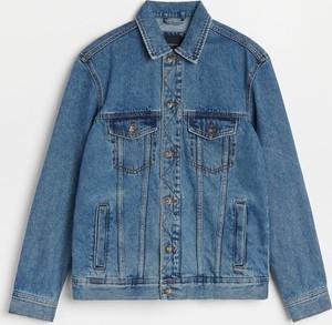 Niebieska kurtka Reserved z jeansu