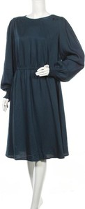 Sukienka Q/s By S.oliver z okrągłym dekoltem w stylu casual