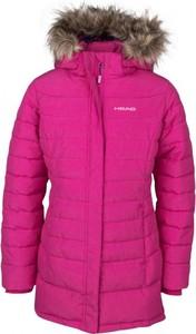 Różowy płaszcz dziecięcy Head