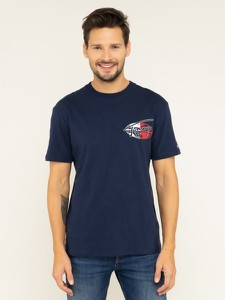 Granatowy t-shirt Tommy Jeans
