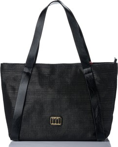 Czarna torebka Monnari matowa duża na ramię