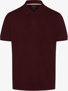 Czerwona koszulka polo Mc Earl z bawełny