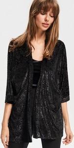 Reserved - Kimono we wzory - Czarny