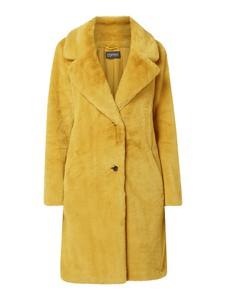 Żółty płaszcz Esprit w stylu casual z wełny