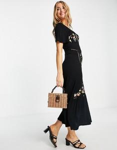Sukienka Asos midi w stylu casual