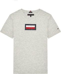 Koszulka dziecięca Tommy Hilfiger z krótkim rękawem dla chłopców