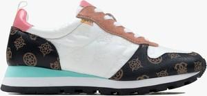 Buty sportowe Guess z płaską podeszwą