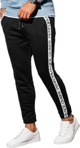 Spodnie sportowe Ombre z dresówki w sportowym stylu