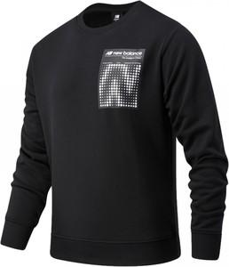 Bluza New Balance z bawełny w sportowym stylu