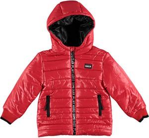 Czerwona kurtka dziecięca Bimbalina dla chłopców
