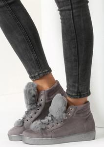 Renee szare sneakersy taryn