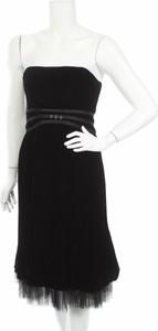 Czarna sukienka Talbots gorsetowa mini
