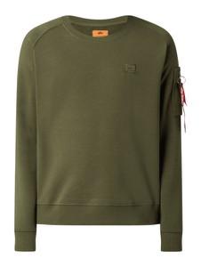 Zielona bluza Alpha Industries z bawełny