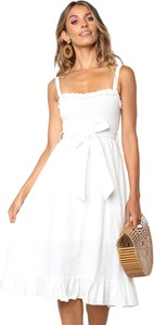 17af09128b sukienka biała na lato - stylowo i modnie z Allani