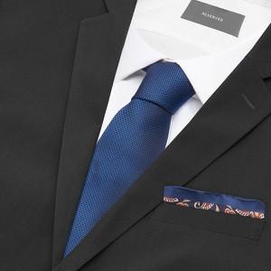 Granatowy krawat Reserved