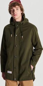 Zielony płaszcz męski Cropp w młodzieżowym stylu