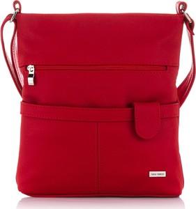 Czerwona torebka Paolo Peruzzi na ramię