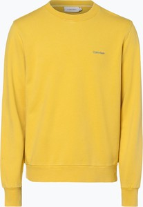 Żółta bluza Calvin Klein