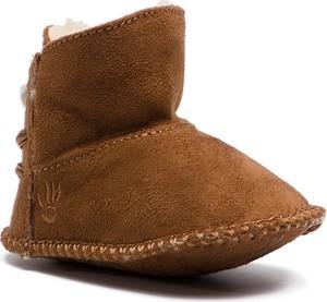Brązowe buty dziecięce zimowe Bearpaw