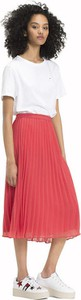 Czerwona spódnica Tommy Jeans midi