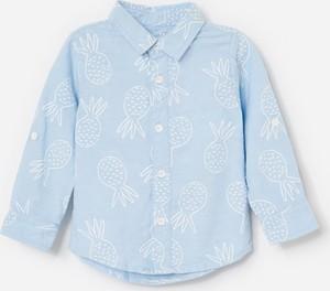 Koszula dziecięca Reserved z bawełny