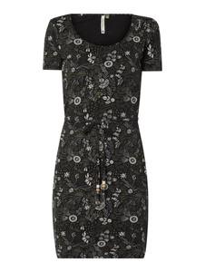 Sukienka Ragwear ze skóry ekologicznej w stylu casual midi