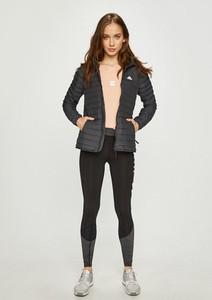 Czarna kurtka Adidas Performance bez kaptura w stylu casual krótka