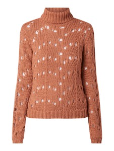 Brązowy sweter Vila w stylu casual