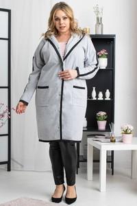 Płaszcz KARKO z bawełny