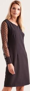 Czarna sukienka Sheandher.pl mini