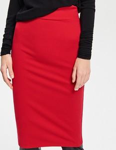 Czerwona spódnica Reserved