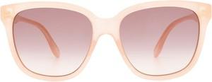 Różowe okulary damskie Gucci