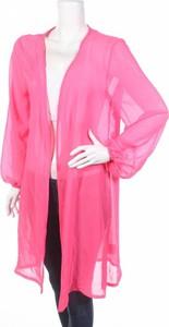 Różowy sweter Femme w stylu casual
