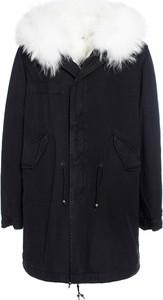 Czarna kurtka Mr&mrs Italy w stylu casual długa