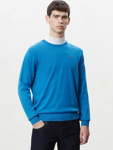 Sweter Napapijri w stylu casual z bawełny
