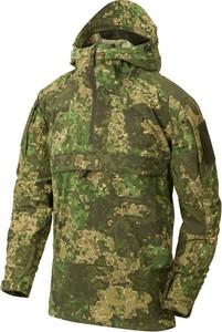 Zielona kurtka HELIKON-TEX w militarnym stylu z tkaniny krótka