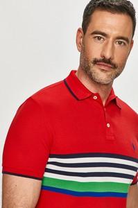 T-shirt POLO RALPH LAUREN z dzianiny w stylu casual