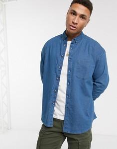 Niebieska koszula Asos z jeansu