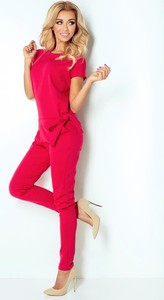 Czerwony kombinezon NUMOCO z długimi nogawkami