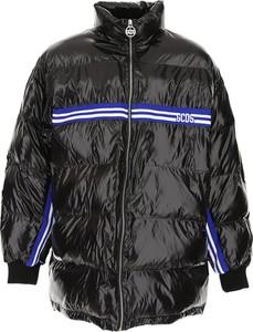 Czarna kurtka Gcds z bawełny