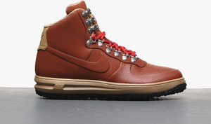 Brązowe buty zimowe Nike