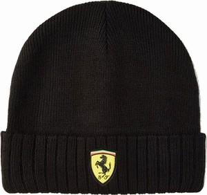 Czarna czapka Scuderia Ferrari F1 Team