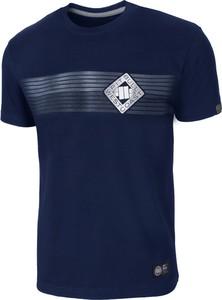 Niebieski t-shirt Pit Bull