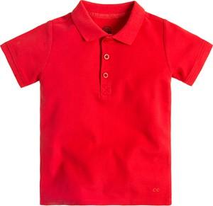 Czerwona koszulka dziecięca Cool Club z krótkim rękawem