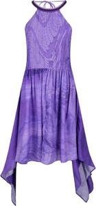 Sukienka Just Cavalli z dekoltem halter asymetryczna bez rękawów