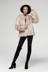 Płaszcz Smoke Furs w stylu casual
