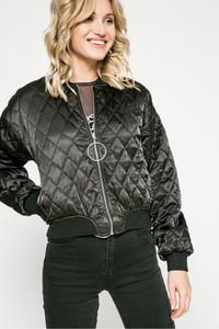 Czarna kurtka Missguided w stylu casual