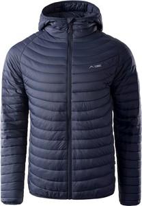 Granatowa kurtka Elbrus w stylu casual