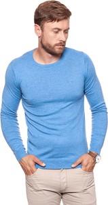 Niebieski sweter Wrangler