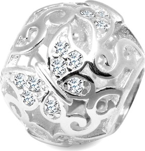 YES Dots - srebrna zawieszka